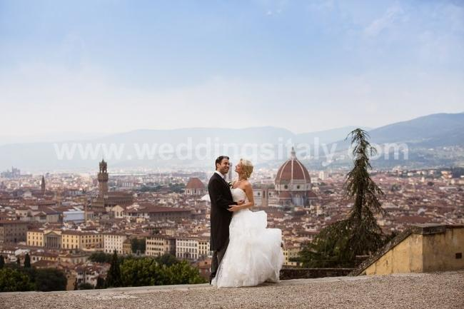Marion & Bernard Wedding in Tuscany