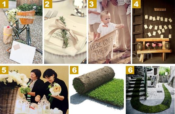 Some ideas we love to help you to create and personalize your big day!