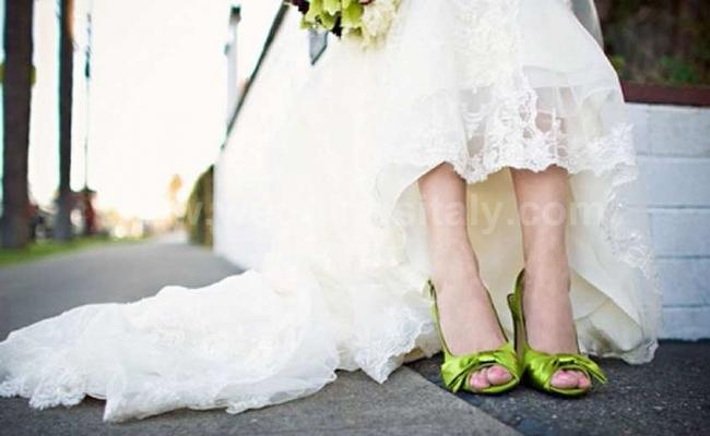 Italian wedding shoes trend