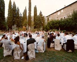 banquetes de bodas y fiestas en italia