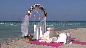 Puglia beach wedding