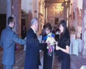 Church ceremony in Venice