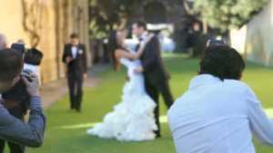 Wedding Photographers Working