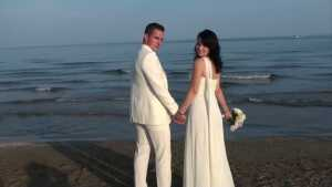 Beach Wedding in Jesolo