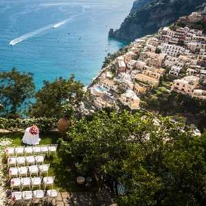 Chic wedding in Positano