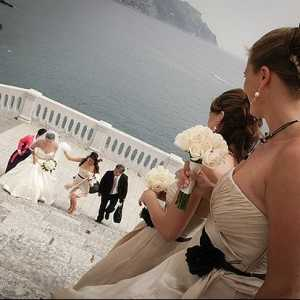 Catholic wedding in Atrani
