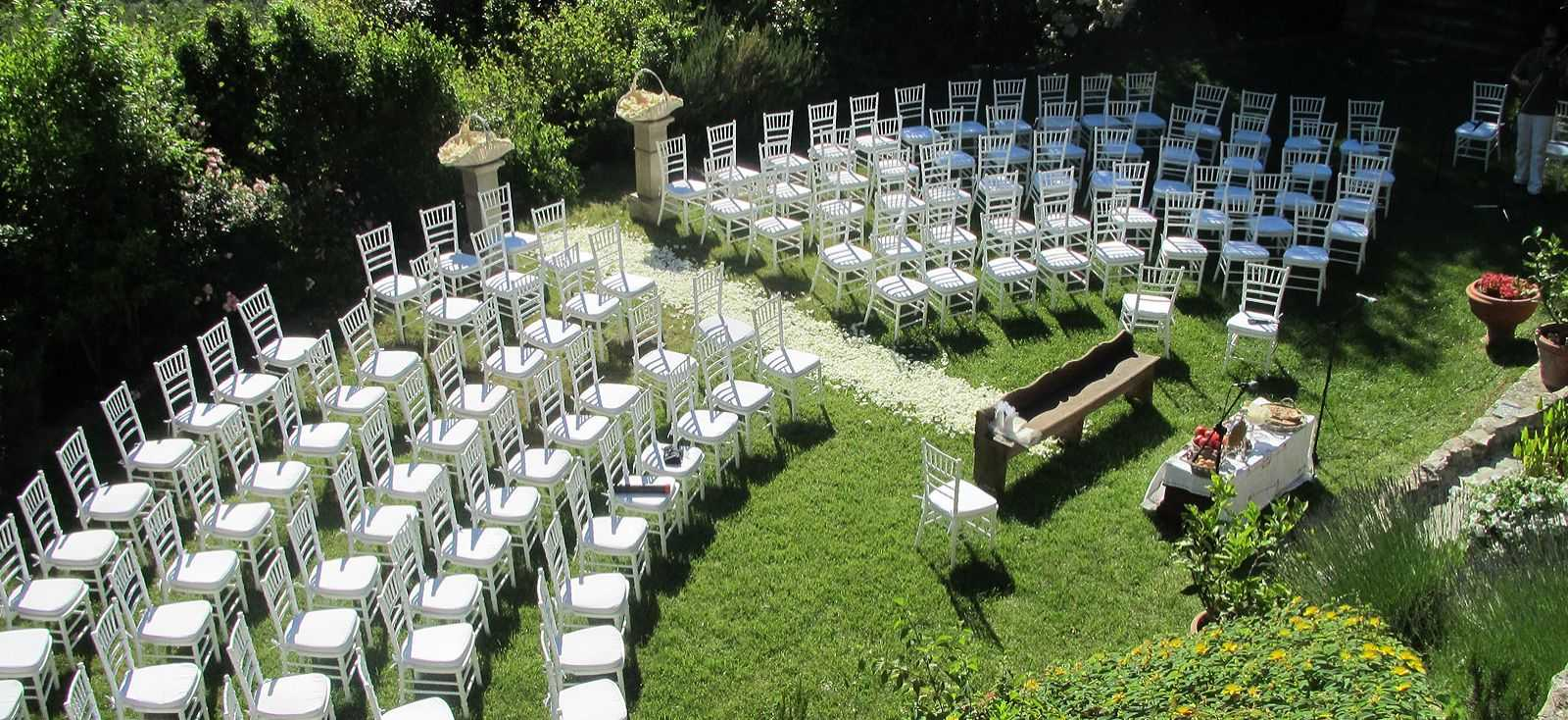 Weddings gardens in Italy