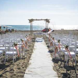 Beach Weddings in Italy, Beach Ceremony in Italy