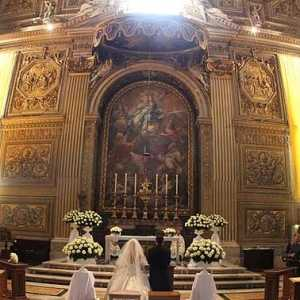 Catholic weddings in St. Peter's Basilica
