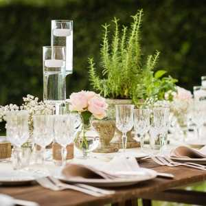 A touch of Tuscan country chic