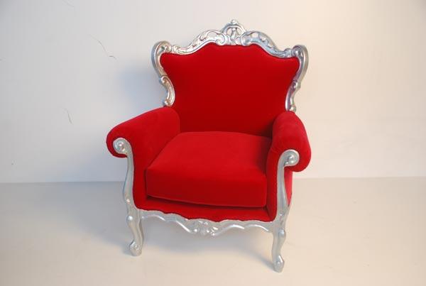 Noleggio sedute per allestimento eventi sedie sgabelli for Poltrone barocche