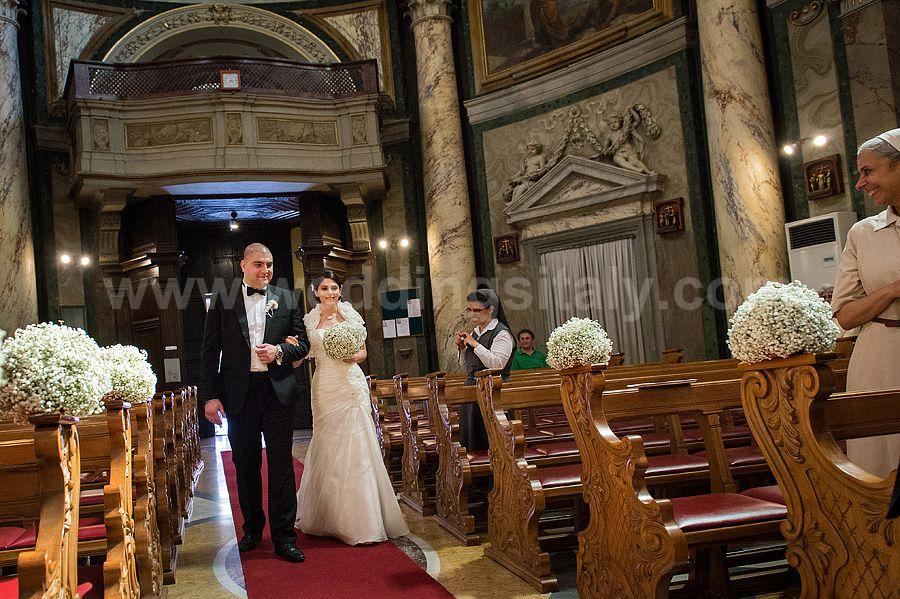 Mona & Georges Wedding in Rome