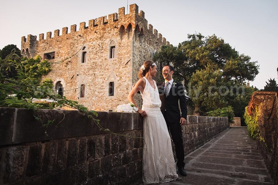 Nora & Thomas Wedding in Castello di Vincigliata