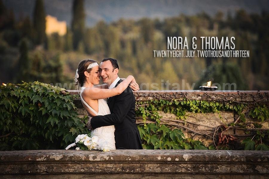 Nora & Thomas Wedding in Castello di Vincigliata