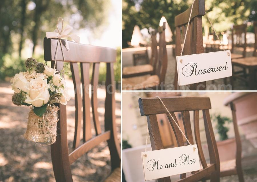 Vintage Style Georgina and Thomas Wedding in Tuscany