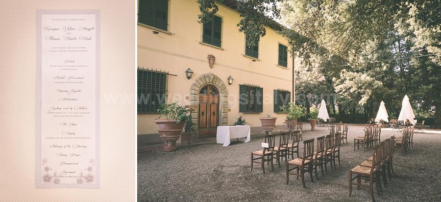 Vintage Style Georgina and Thomas Wedding in Tuscany