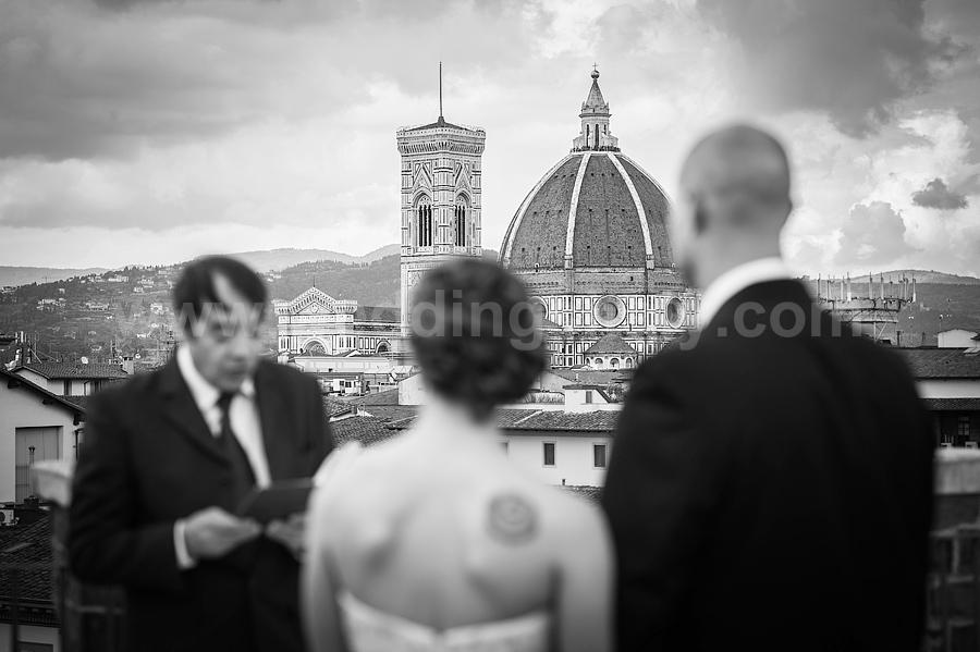 Janna and Matthew Wedding in Florence