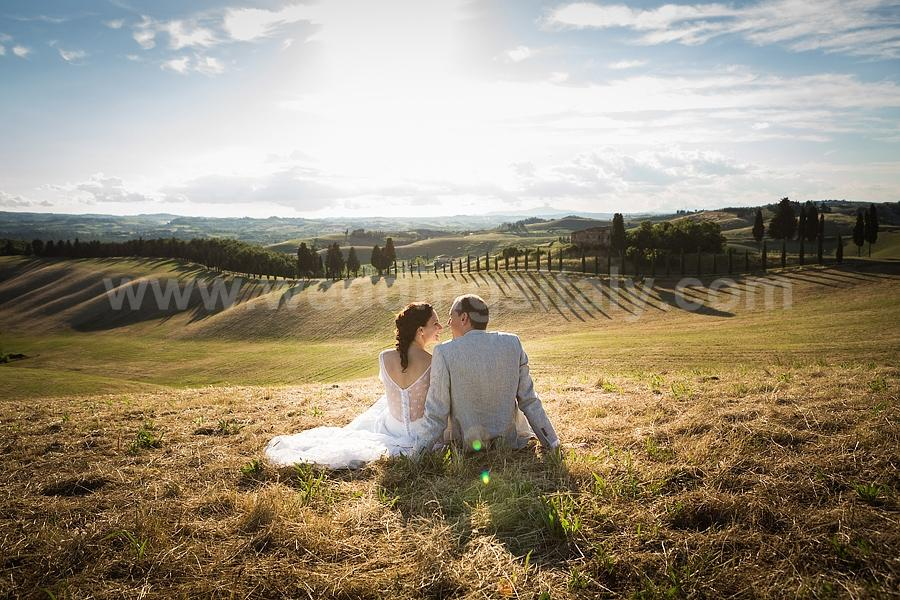 Marta and Antonio Wedding in Tuscany