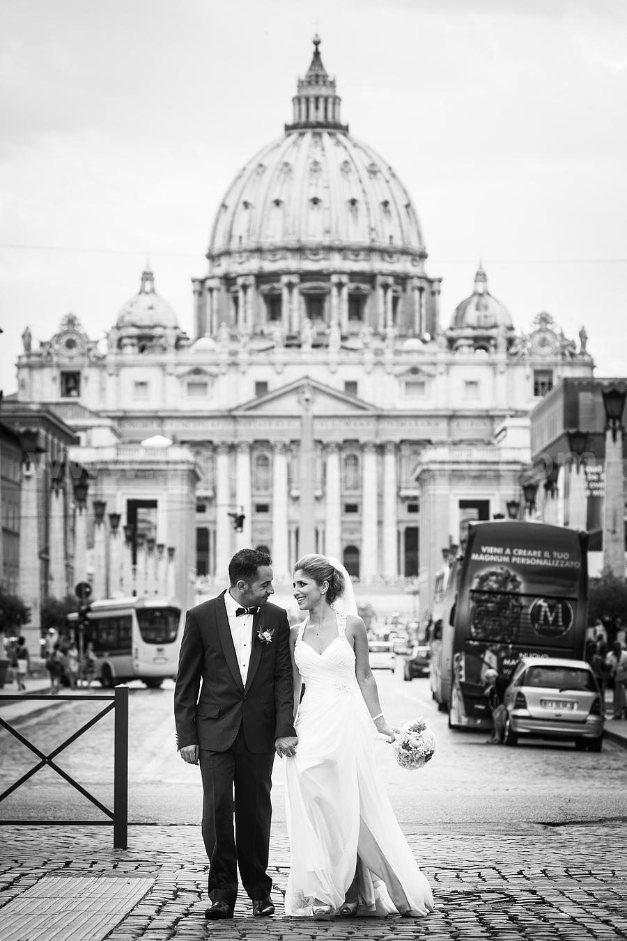 Mira and Georges's Wedding in Rome