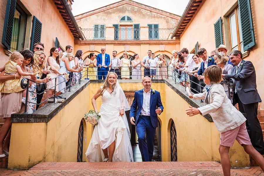 Jennifer and James's Wedding in Tuscany
