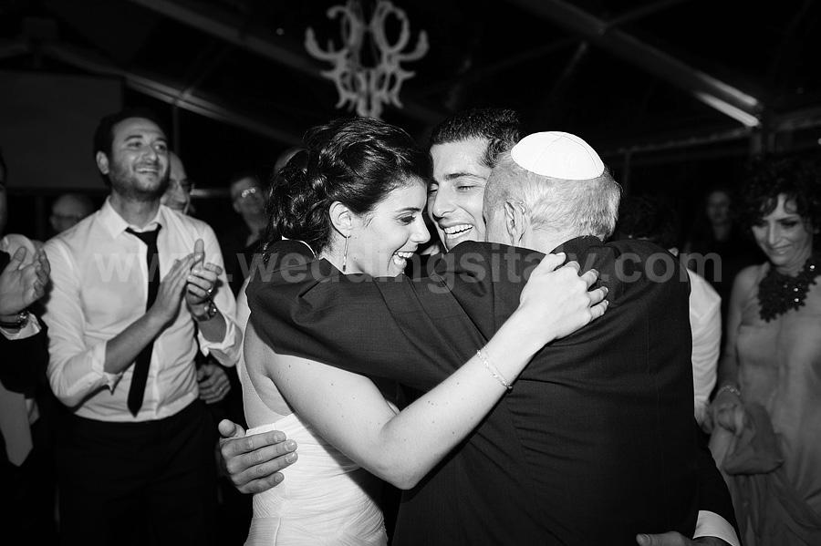 Anouck and Gregory Jewish Wedding in Tuscany