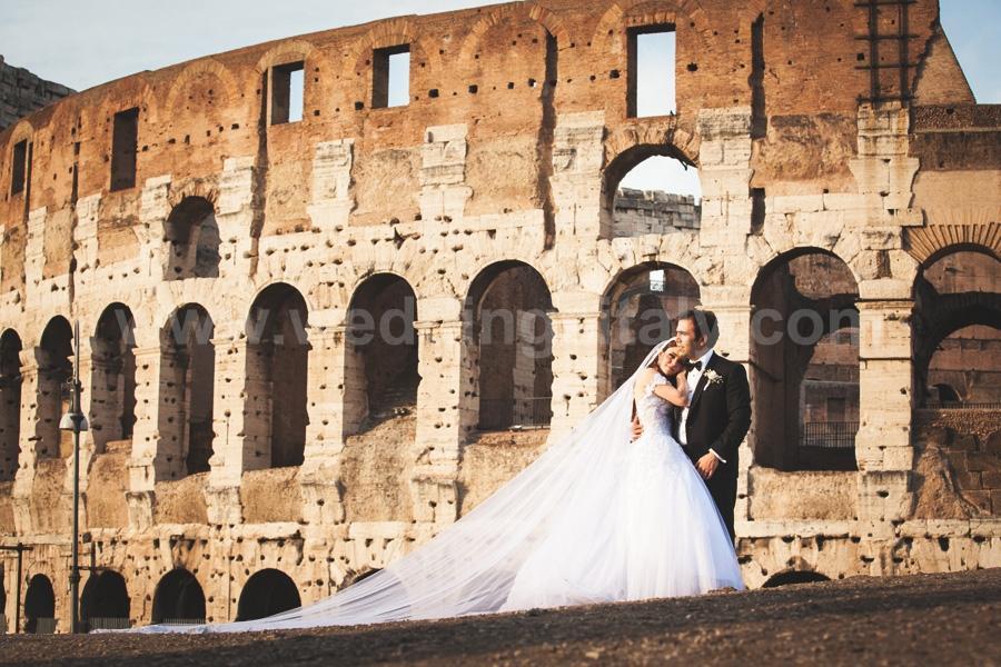 Rana and Eddy Wedding in Rome