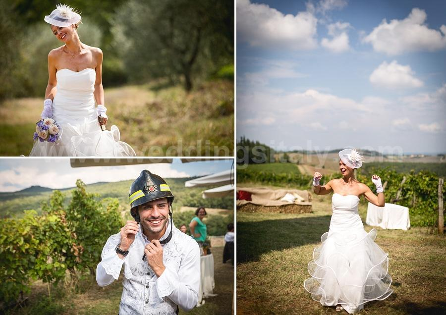 Elisa and Diego Wedding in Tuscany
