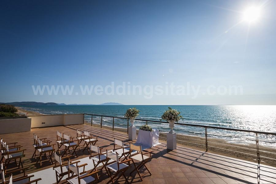 Beach Wedding in San Vincenzo