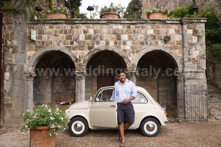 Nazeeha and Kartik Indian Wedding in Tuscany at Vincigliata Castle