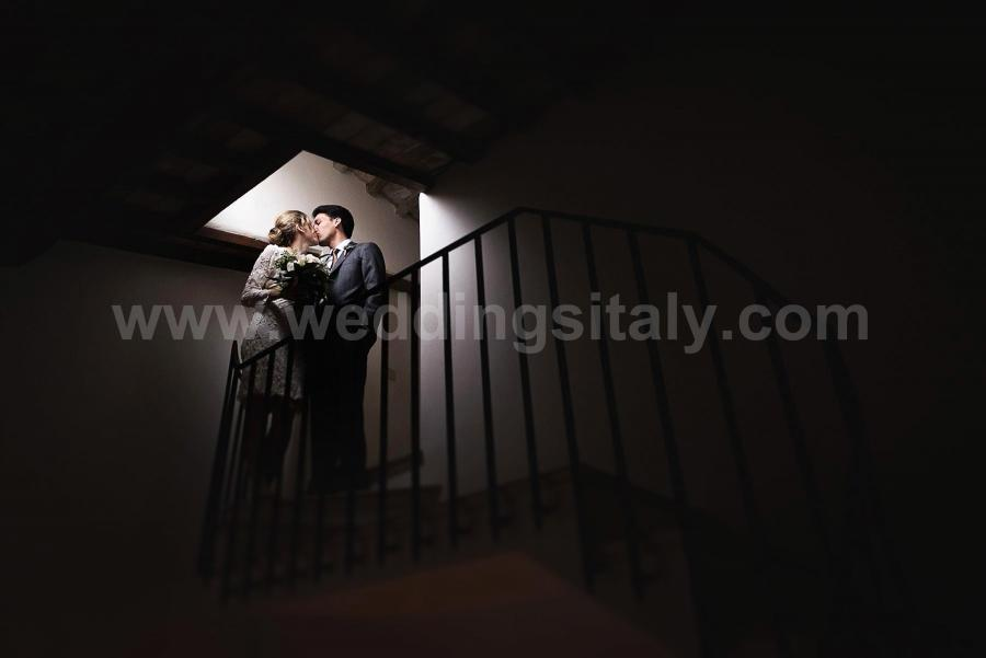 Teresa and Anthony Wedding in Umbria at Borgo Bastia Creti