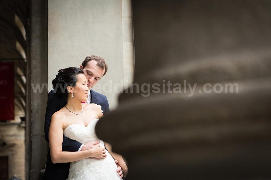 Laura and Antoine Wedding in Florence at Villa La Vedetta