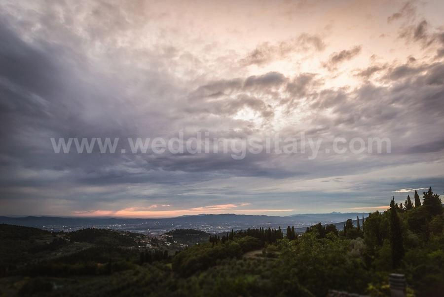 Ramona and Kai Wedding in Tuscany at Villa Montefiano