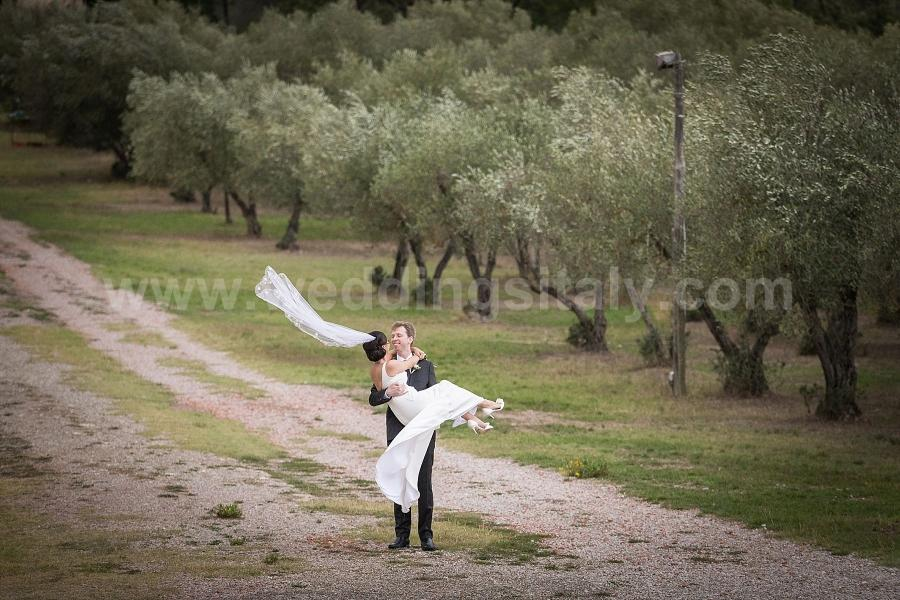 Alice and Adam Wedding in Tuscany at Villa Nozzole