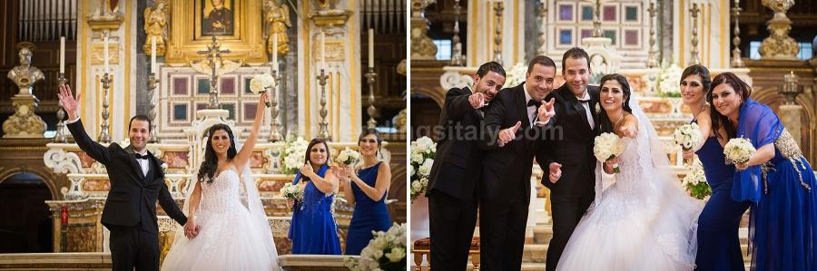 Ray and Rafic Wedding in Rome