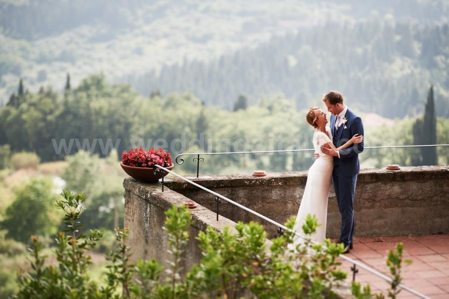 Hayley and Kevin Wedding in Tuscany