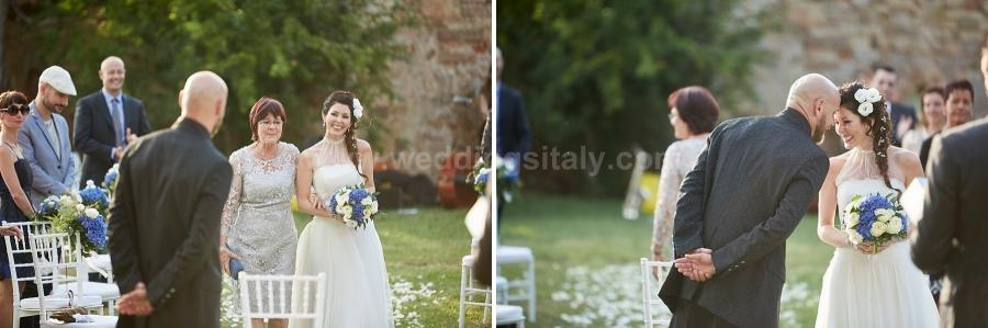 Lia and Michele Wedding in Tuscany
