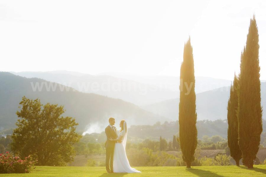 Laura and David Wedding in Tuscany