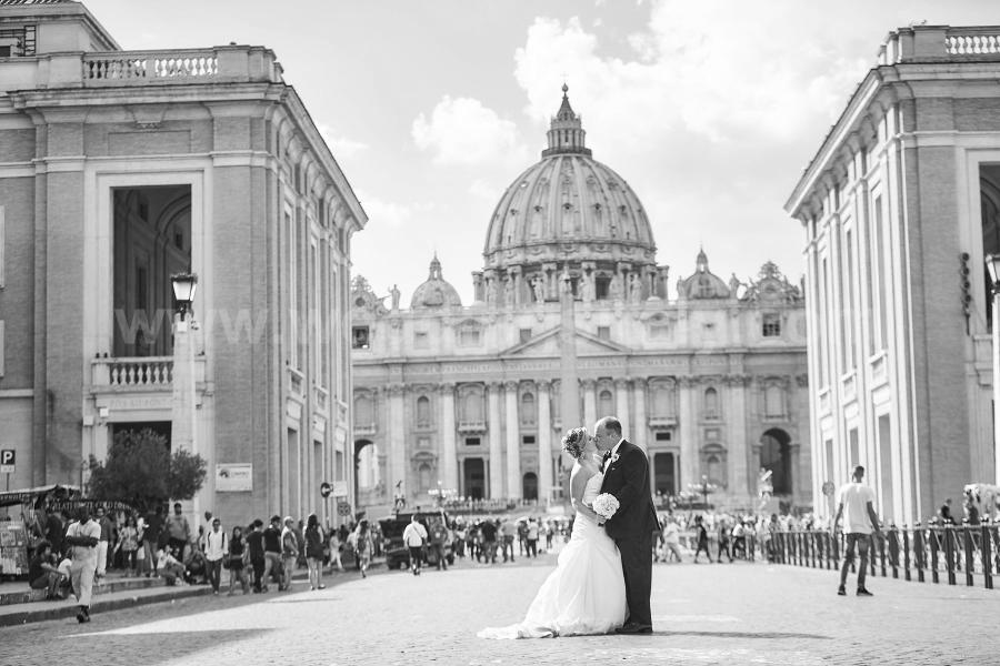 Danielle and Nick Wedding in Rome