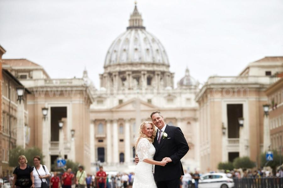 Nita and Tommy Wedding in Rome