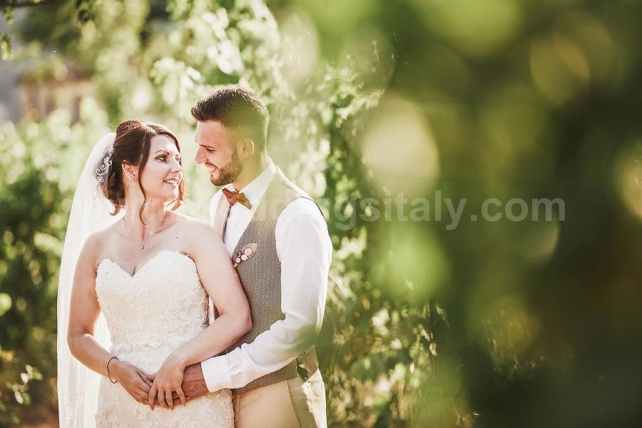 Claire and Liam Wedding in Tuscany