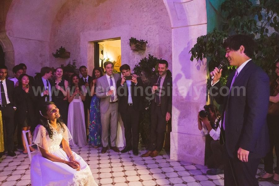 Lavanya and Jack Wedding in Positano