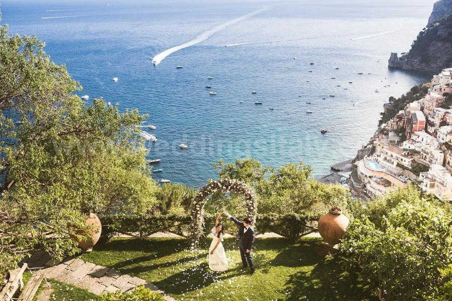 Lavanya and Jack Wedding in Positano