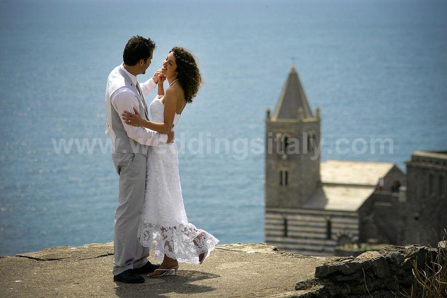 Elizabeth & Jason Wedding in Portovenere