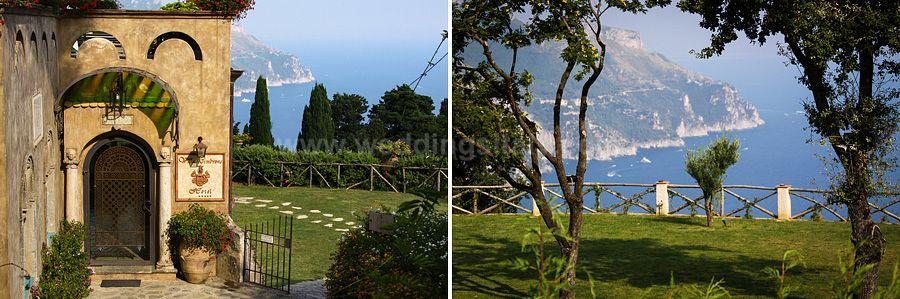 Annalise & Kristopher Wedding in Amalfi Coast