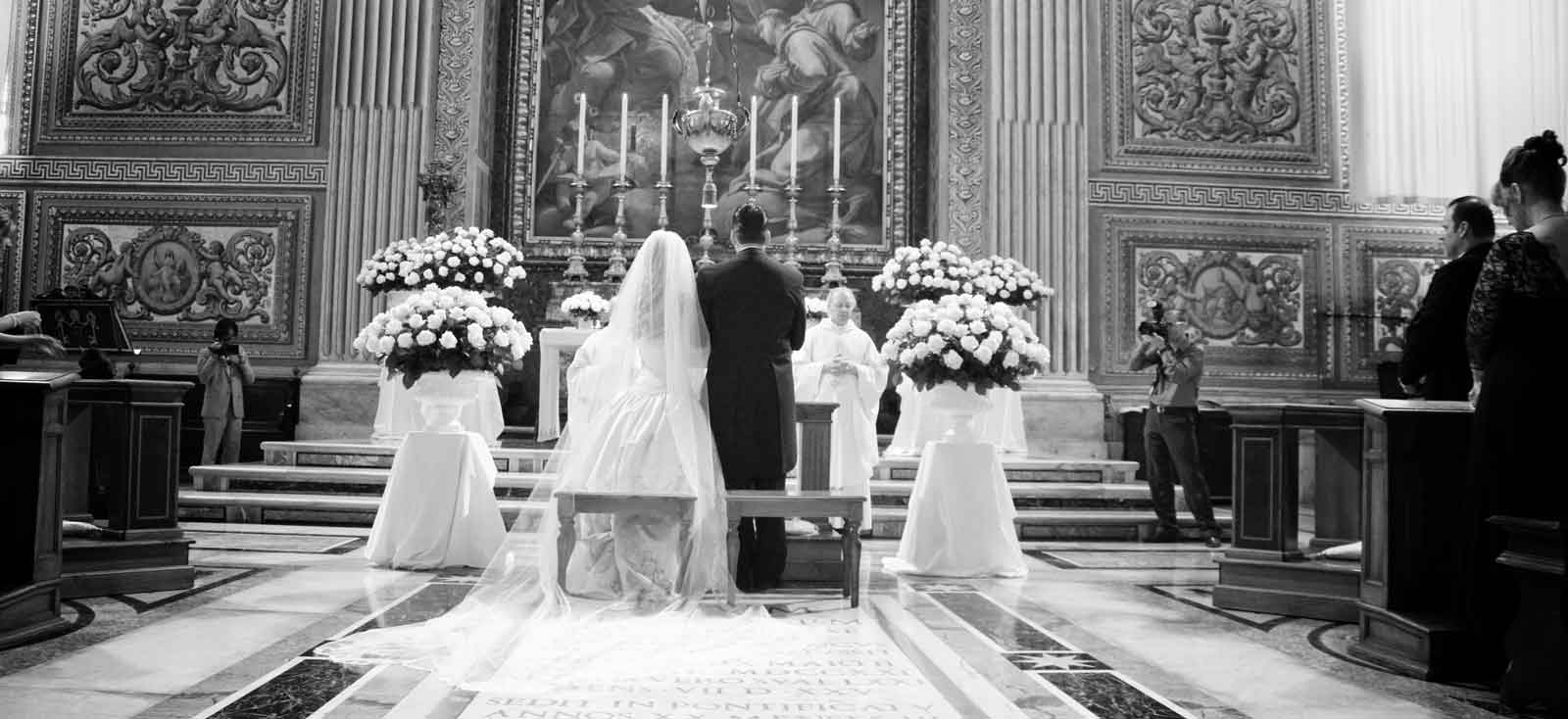 Catholic wedding in Italy