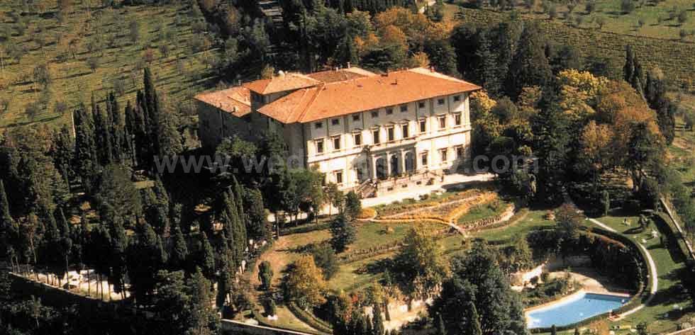 Hotel Villa Pitiana Florence Italy
