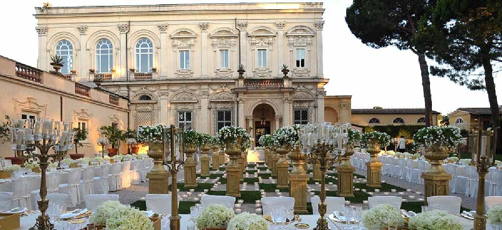 Wedding Villa In Italy